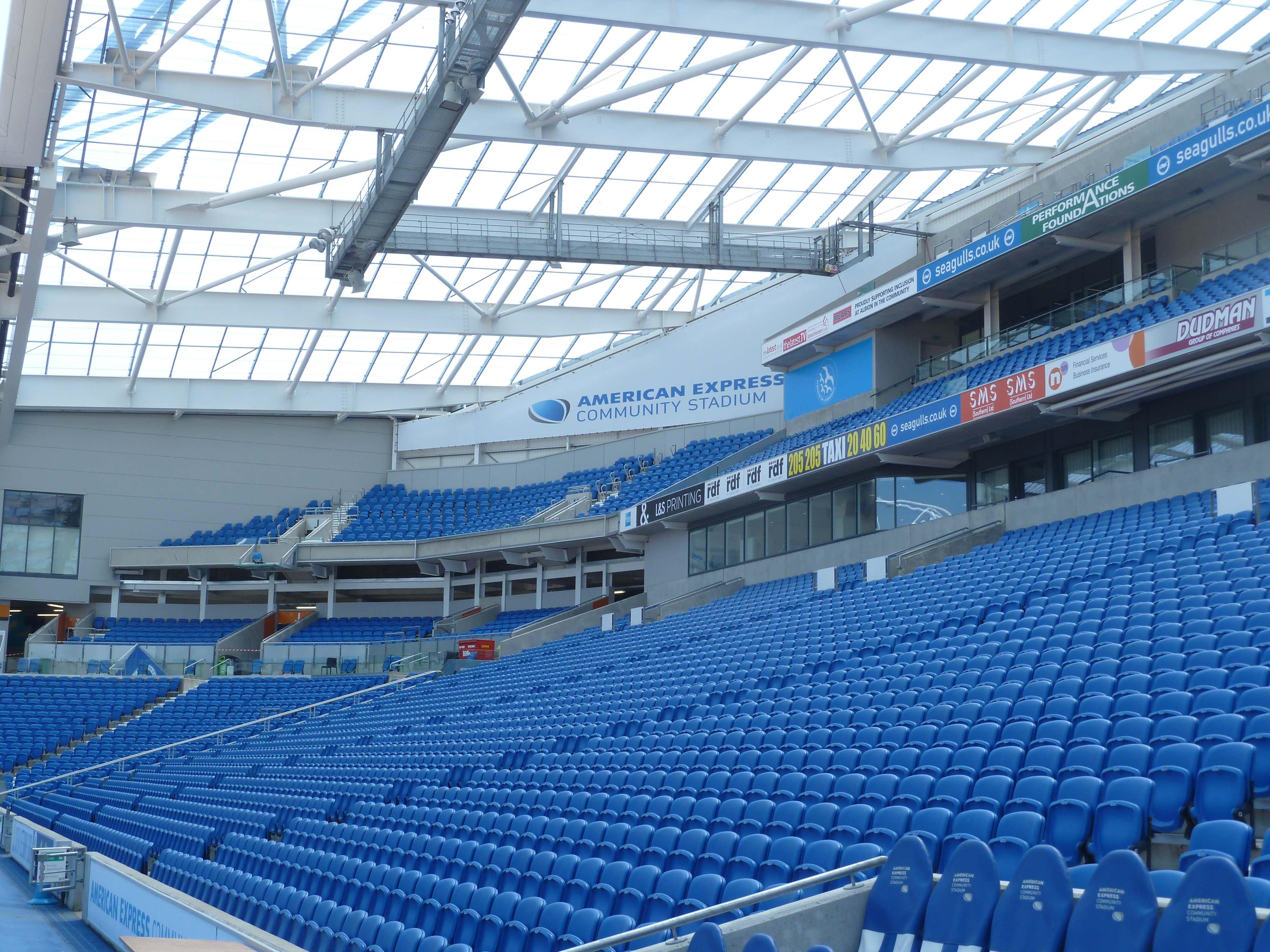 tour of brighton u2019s amex stadium
