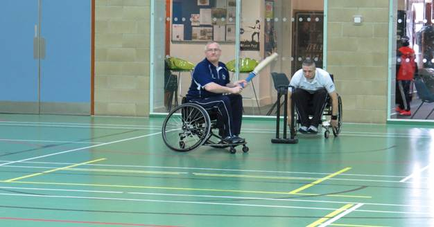 wheelchair cricket