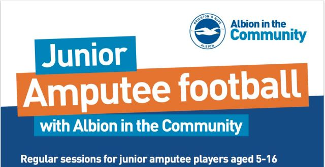 junior amputee football - Sussex