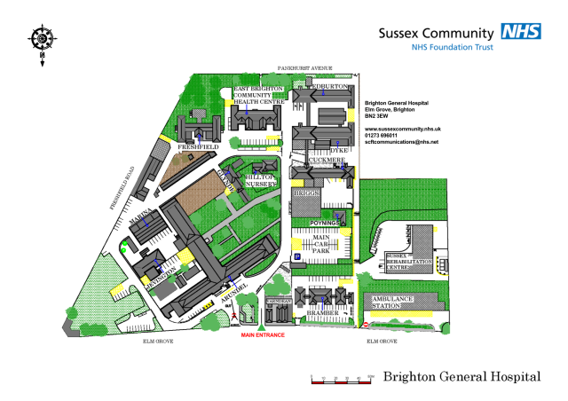 Brighton General Hospital-sitemap